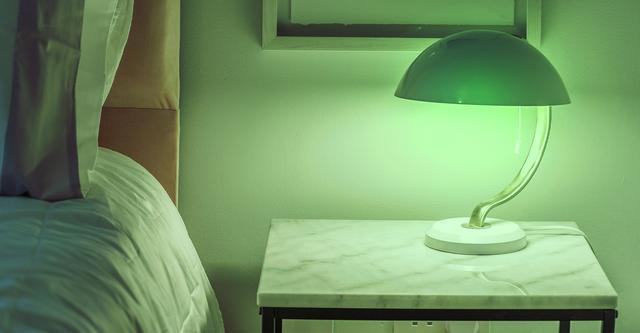 C by GE couleur ampoule vert