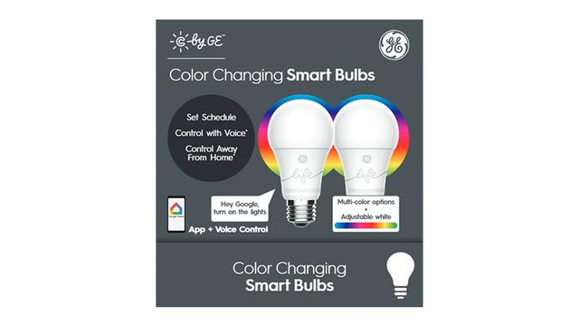 Color Bulb Packaging