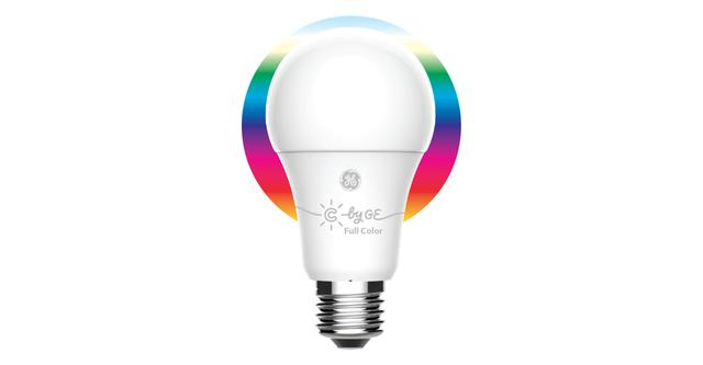 C by GE pleine couleur A19 ampoule