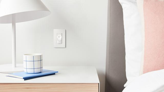 C-Start Smart Switch by nightstand
