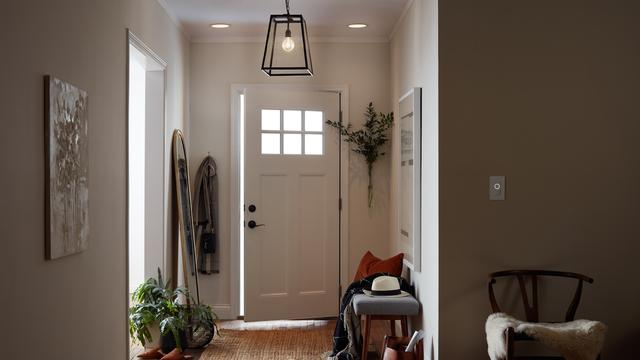 C-Start Smart Switch in entryway