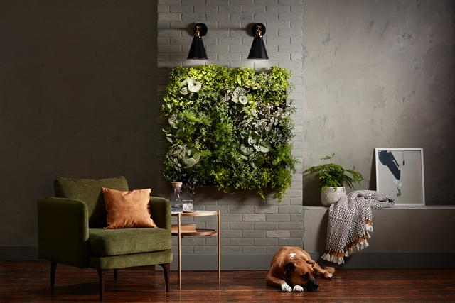 GE Grow Lights Greenery Wall