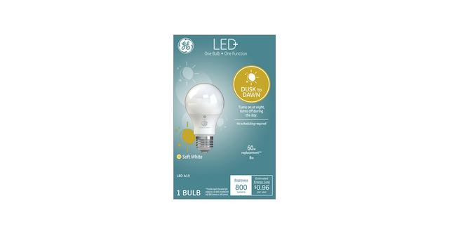 LED+ Dusk to Dawn A19 Bulb Box