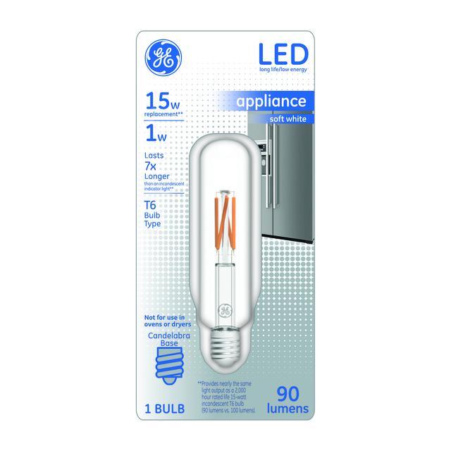 Paquet avant de 15 W remplacement Soft White LED Ampoule Specialty T6