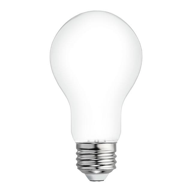 Image du produit de Relax HD Soft White 40W Remplacement LED givrée A19 éclairages (8-Pack)