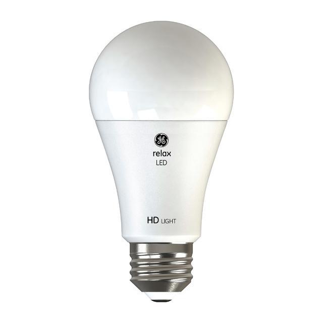 Image du produit de GE Relax HD Soft White 75W Remplacement LED Indoor General Purpose A19 Light Bulbs (2-Pack)