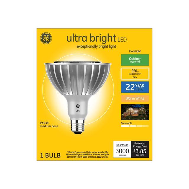 Ensemble avant de projecteur extérieur de remplacement ultra bright warm 250 W PAR38 (1-Pack)