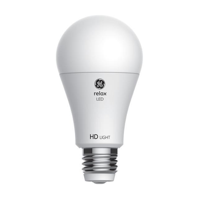 Image du produit de GE Relax HD Soft White 30/70/100W Remplacement LED Indoor General Purpose A19 Light Bulb