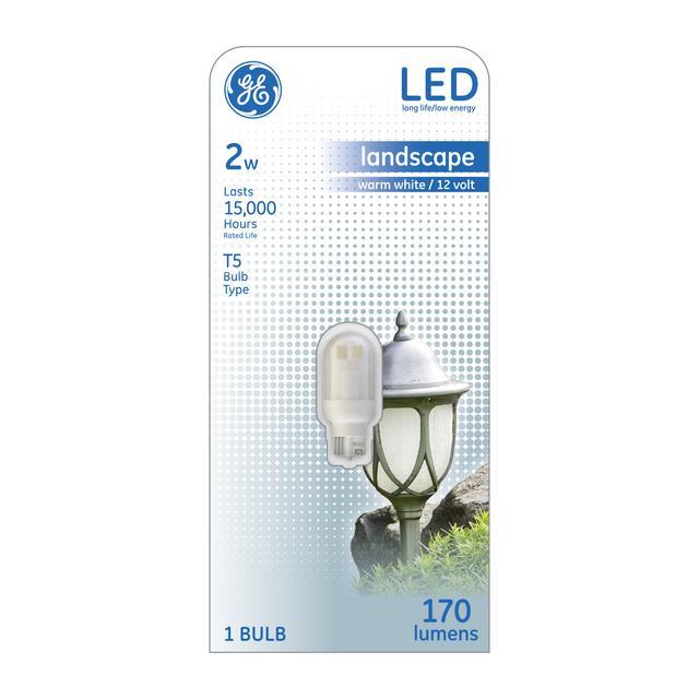Paquet avant de GE Warm White 18 W Remplacement ampoule LED T5 (1-pack)
