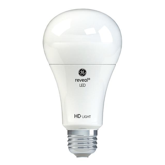 Image du produit de GE Reveal HD+ Ampoules de A21 à usage général à usage général de remplacement de 75 W améliorant les couleurs (4-Pack)