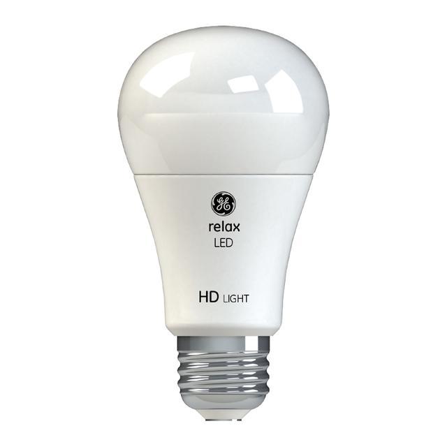 Image du produit de GE Relax HD Soft White 40W Ampoules LED de remplacement Blanc Usage général A19 (4-Pack)