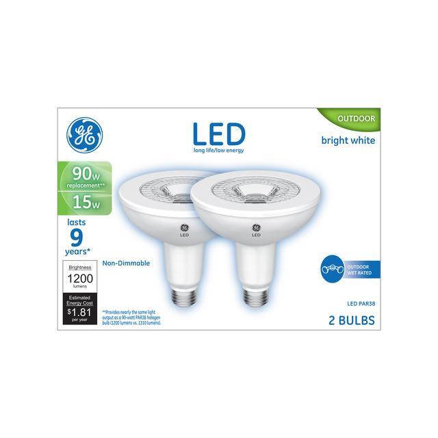 Paquet avant de GE Reveal HD+ 30/70/100W LED de remplacement 3 voies Intérieur À usage général A1 Ampoule (1-Pack)