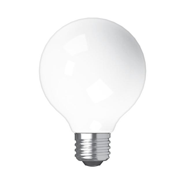 Image produit de GE Relax HD Soft White 40W Remplacement ampoules LED Décoratif Globe Clear Medium Base G25 (2-Pack)