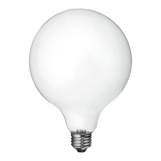 Image de produit de GE Relax HD Soft White 60W LED Ampoules décoratives Globe Medium Base G40