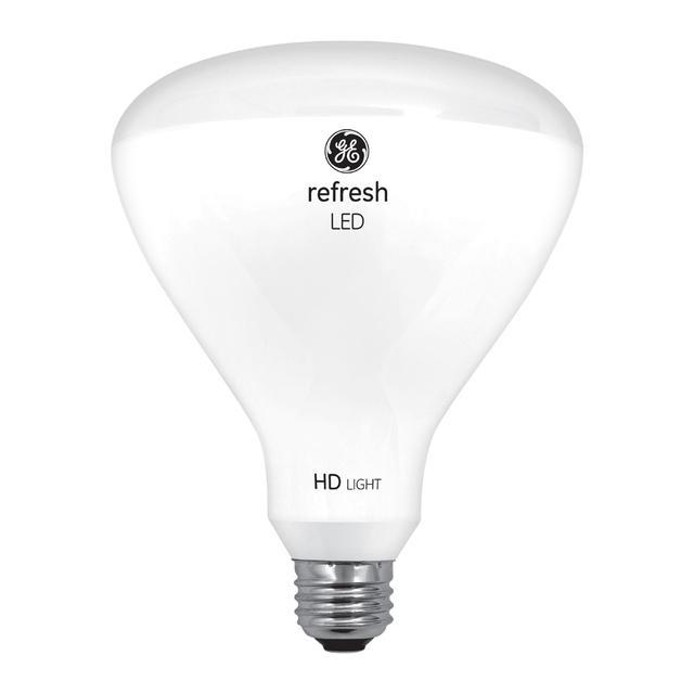 Image produit de GE Refresh HD Daylight 85W Remplacement ampoules LED Projecteur intérieur BR40 (2-Pack)