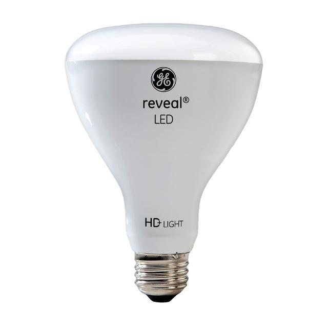 Image du produit de GE Reveal HD+ Lumier intérieur de remplacement LED de 65 W améliorant la couleur BR30 Ampoule (1-Pack)