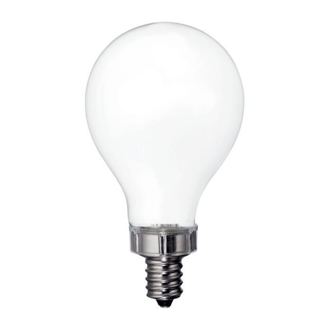 Image du produit de Relax HD Soft White 60W Ampoules LED de remplacement Ventilateur de plafond Candélabre Base Blanc A15