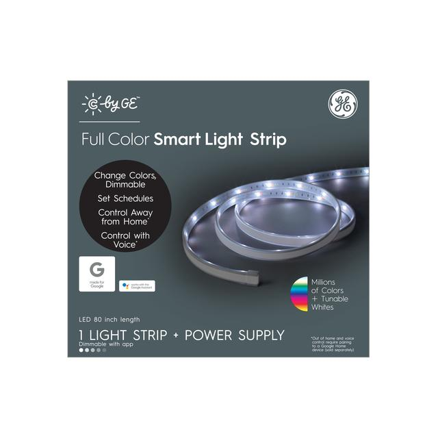 Front package of C by GE Full Color Smart LED Light Strip (80-inch Light Strip + Power Supply)