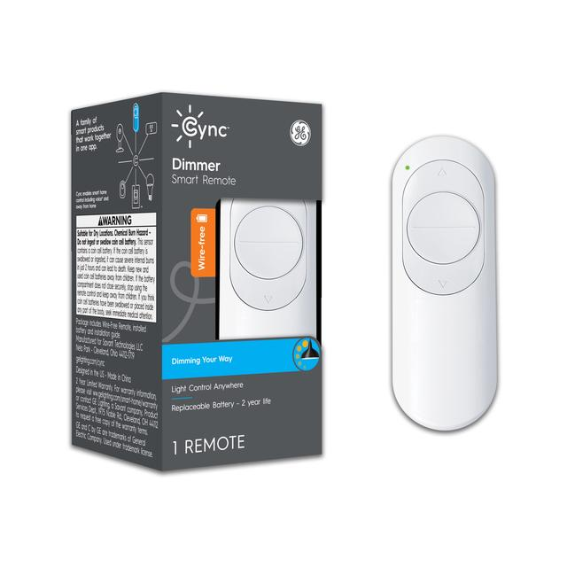 Paquet avant de Cync Wire - Télécommande Smart Dimmer gratuite (1-Pack)