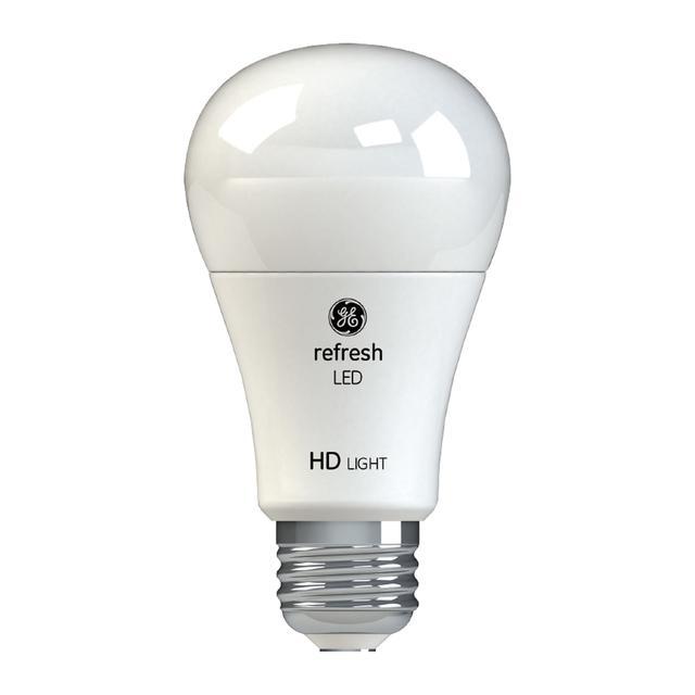 Image de produit de GE Refresh HD Daylight 60W Ampoules LED de remplacement Blanc Usage général A19 (4-Pack)