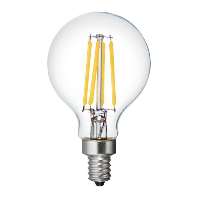 Image du produit de Refresh HD Daylight 40W Ampoules LED de remplacement Décoratif Clear Globe Candélabre Base G16.5