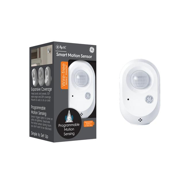 Front package of C by GE Wire-Free Smart Motion Sensor (1-Pack)