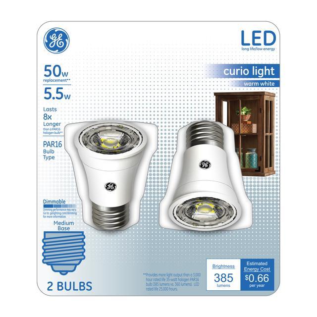 Paquet avant de blanc chaud 50 W LED Ampoule Floodlight PAR16