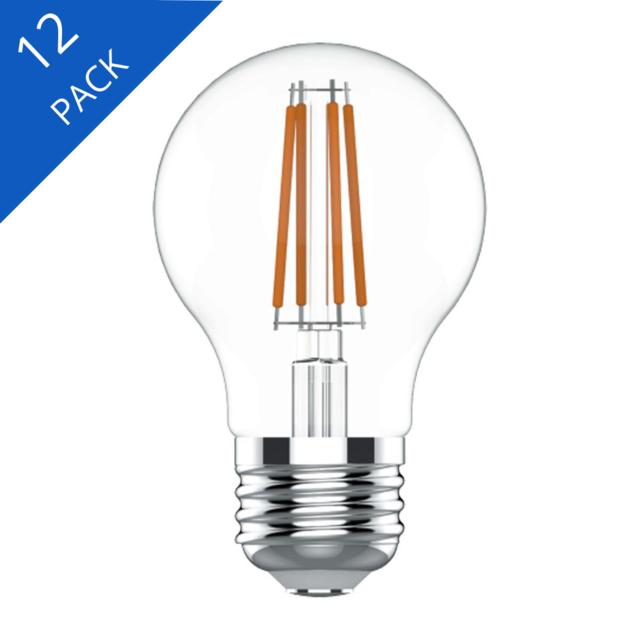 Image produit de GE Relax HD Soft White 40W Remplacement ampoules LED Ampoules décoratives Clear Globe Base moyenne G16.5