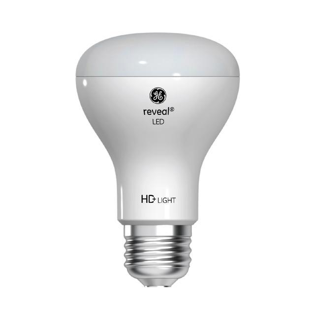 Image du produit de GE Reveal HD+ Lumier LED de remplacement de 45 W améliorant la couleur Projecteur intérieur R20 (1-Pack)