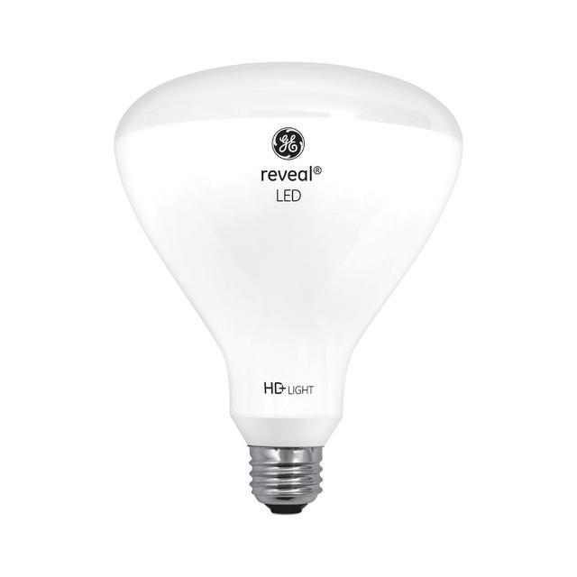 Image produit de GE Reveal HD+ Image de remplacement 80W ampoule LED de remplacement lumière d'inondation intérieure BR40 (1-Pack)