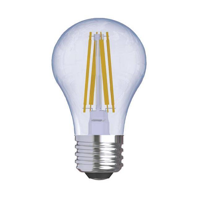 Image de produit de GE Reveal HD+ Écouleurs de couleur 40W Ampoules LED de remplacement Clear Ceiling Fan Medium Base A15 (2-Pack)