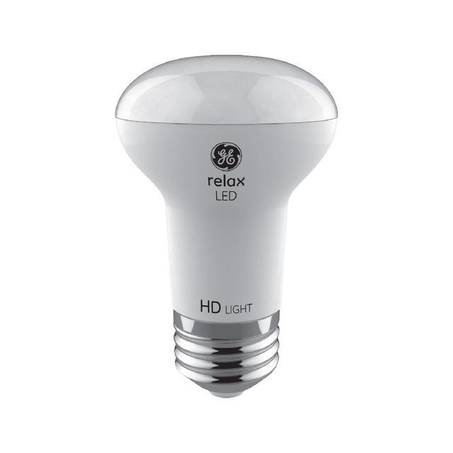 Image produit de GE Relax HD Soft White 45W Remplacement LED Projecteur intérieur R16 Ampoules de lumière (2-Pack)