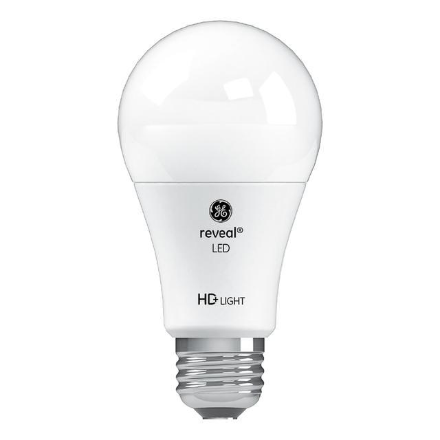 Image du produit de GE Reveal HD+ Ampoules à led de remplacement de 60 W à usage général A19 (6-Pack)
