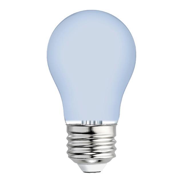 Image produit de Reveal HD+ Color-Enhancing 40W Remplacement LED givré Ventilateur de plafond Base moyenne A15 Ampoules de lumière