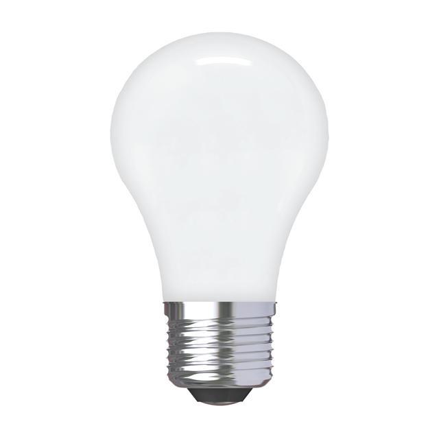 Image du produit de GE Relax HD Soft White 60W Ampoules LED de remplacement Ventilateur de plafond Base moyenne Blanc A15 (2-Pack)