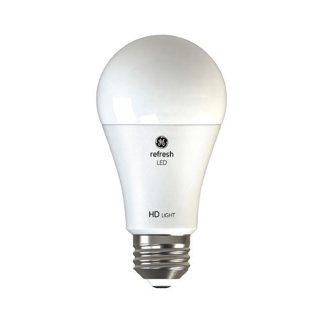 Image du produit de GE Refresh HD Daylight 100W Led de remplacement ampoules à usage général A19 light (2-Pack)