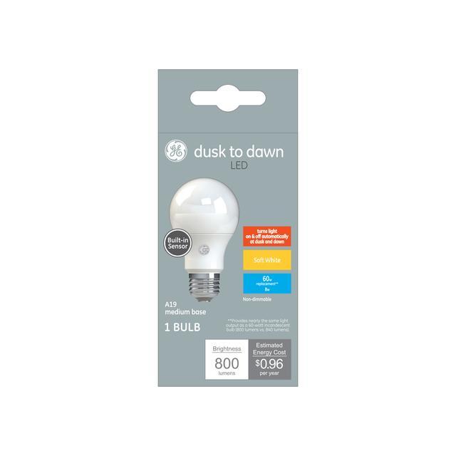 Paquet avant de Soft White LED 60 W Remplacement ampoules LED Usage général A19