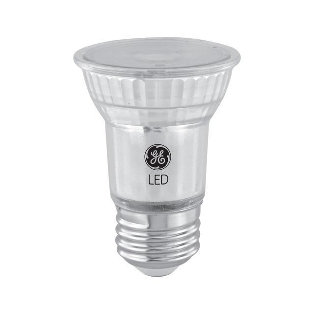 Paquet arrière de GE Reveal HD+ Éclairage intérieur LED de remplacement de 60 W améliorant la couleur PAR16 Ampoules de lumière (2-Pack)