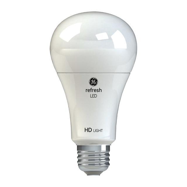 Image de produit de GE Refresh HD Daylight 100W Ampoules LED de remplacement Blanc Usage général A21 (2-Pack)