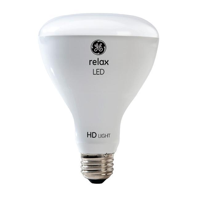 Image produit de GE Relax HD Soft White 65W Remplacement LED Projecteur intérieur BR30 Ampoules de lumière (2-Pack)
