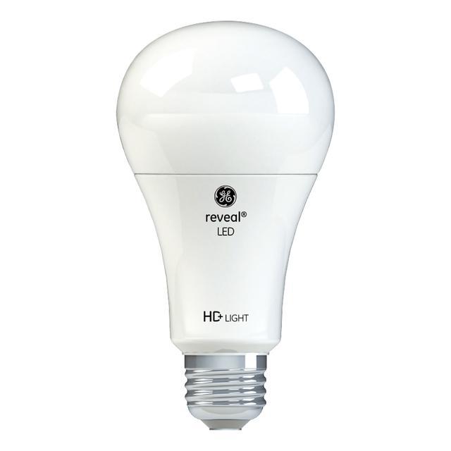 Image du produit de GE Reveal HD+ Édacteurs LED de remplacement de 75 W améliorant les couleurs Blanc Usage général A21 (1-Pack)