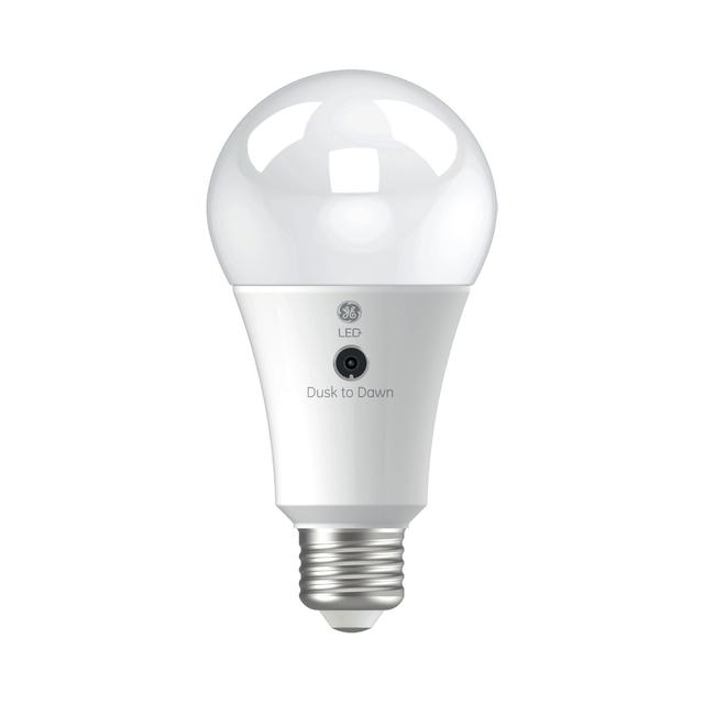 Product Image of LED+ Dusk to Dawn Soft White 100W Replacement LED General Purpose A21 Light Bulb (1-Pack)