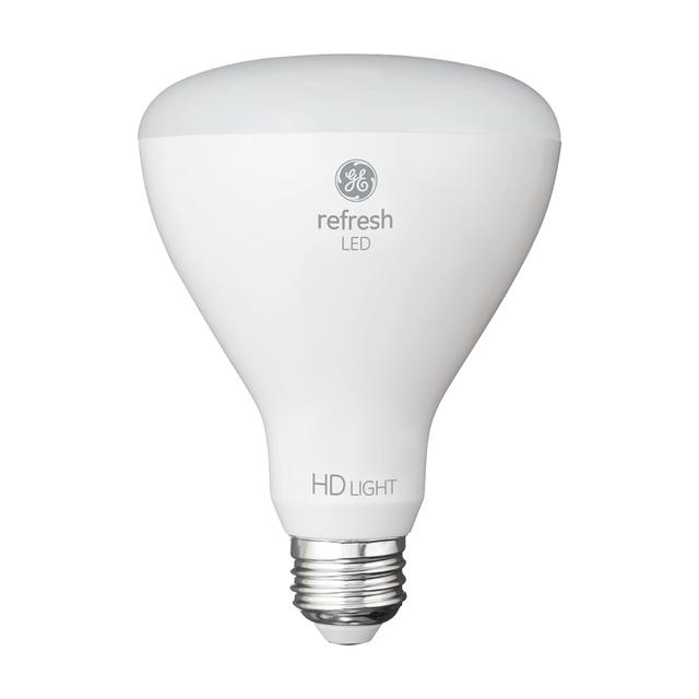 Image du produit de GE Refresh HD Daylight 65W Projecteur intérieur LED de remplacement BR30 Ampoules (6-Pack)