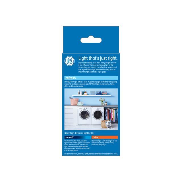 Paquet arrière de GE Refresh HD Daylight 100W Ampoule LED de remplacement à usage général A21 (1-Pack)