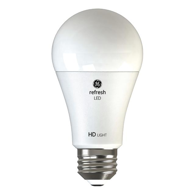 Paquet arrière de GE Refresh HD Daylight 75W Remplacement LED Indoor General Purpose A19 Light Bulbs (2-Pack)