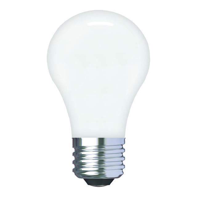 Image du produit de GE Relax HD Soft White 40W Ampoules LED de remplacement Ventilateur de plafond Base moyenne Blanc A15 (2-Pack)