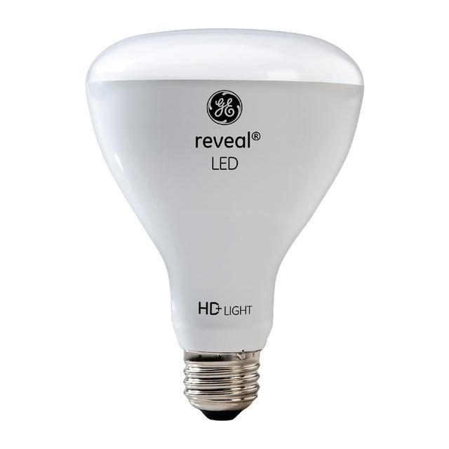 Image produit de GE Reveal HD+ Image de remplacement 65W Ampoules LED de remplacement lumière d'inondation intérieure BR30 (2-Pack)