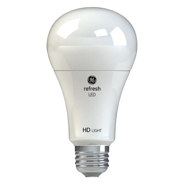 Image du produit de Refresh HD Daylight 100W Remplacement LED Indoor General Purpose A21 Light Bulbs (2-Pack)