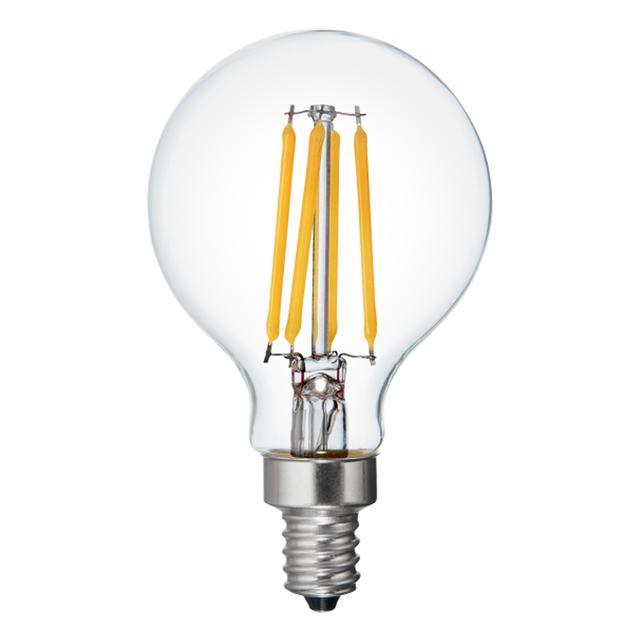Image produit de Relax HD Soft White 40W Remplacement ampoules LED Ampoules décoratives Clear Globe Candélabre Base G16.5