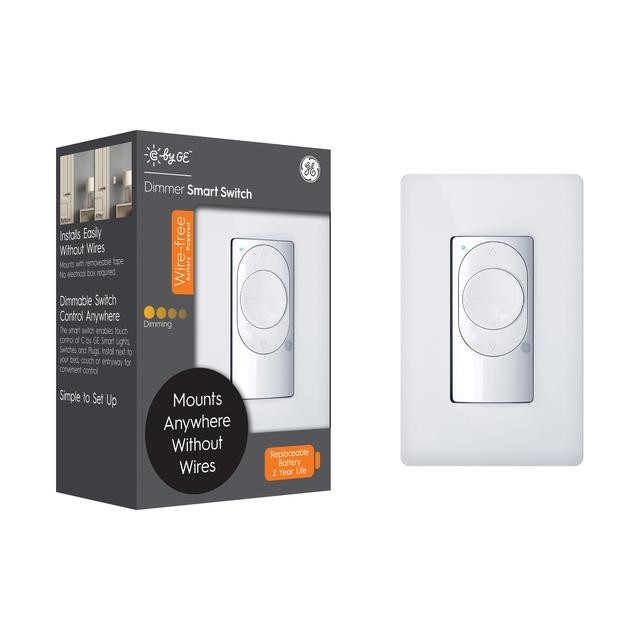 Front package of GE C by GE Wire-Free Dimmer Smart Switch